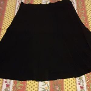 Classic black Aline stretch skirt 18 Lane Bryant